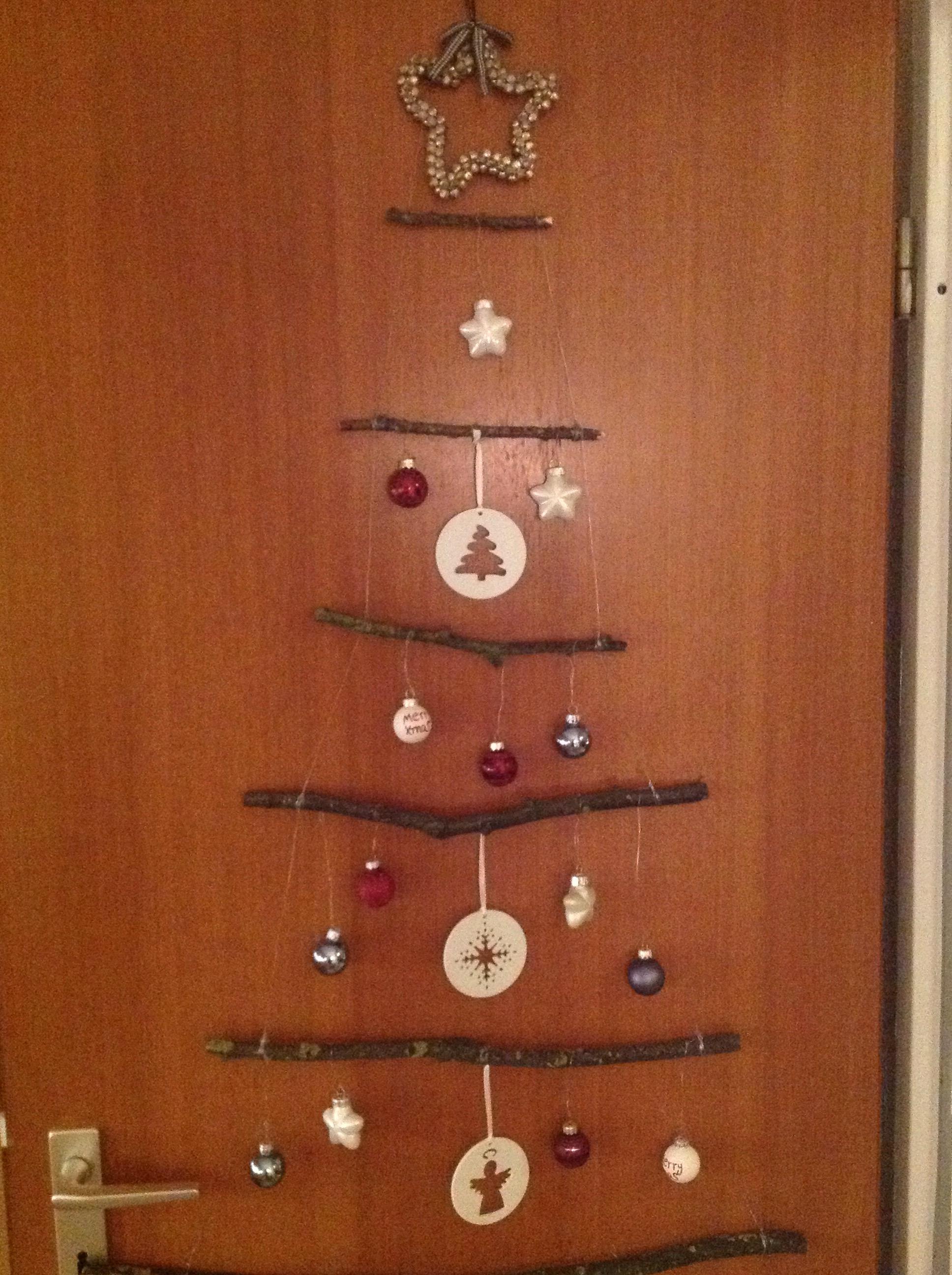 Oh Tannenbaum,wie schön sind deine Stöcke – oder – Was ein Sturm mit Weihnachtsdeko zu tun hat