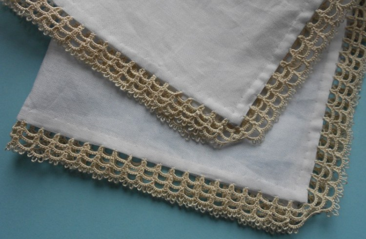 19th century handkerchief