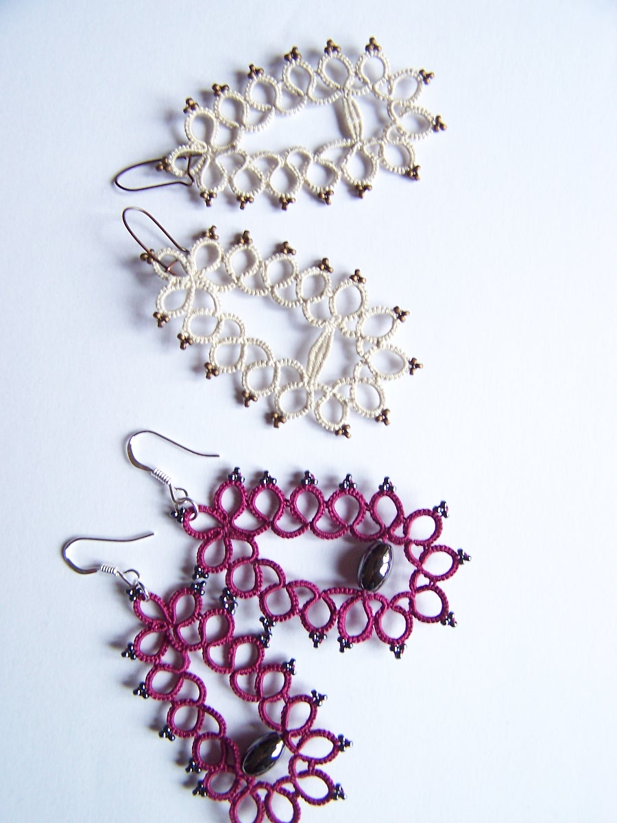 Earrings with or without clunies