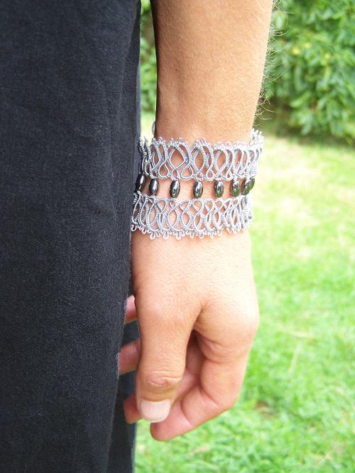 Bracelet Frivolite Hematite