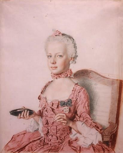 Marie-Antoinette faisant de la frivolité