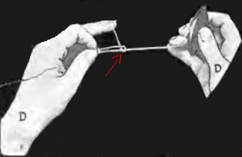 tuto double-double nœud