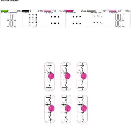 Knitting-EKG-Fob 5×7 grouped