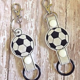 ITH Soccer Water Bottle Holders – 4×4 and 5×7 – DIGITAL Embroidery DESIGN