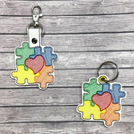 ITH – Autism Awareness Sketch Fobs 4×4 & 5×7 Grouped