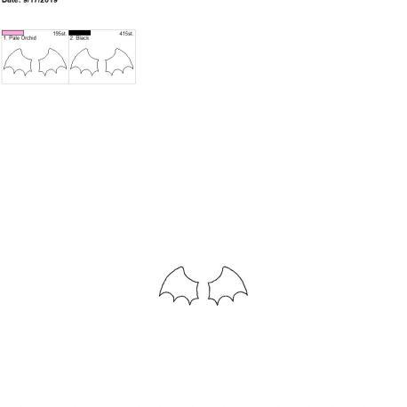 3d bat wing felties for fobs 4×4 single