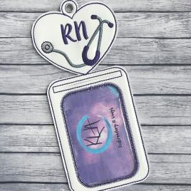 ITH – RN Vertical ID Holder 5×7 only