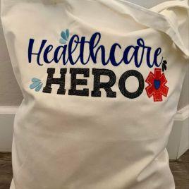 Healthcare Hero – 3 Sizes – Digital Embroidery Design