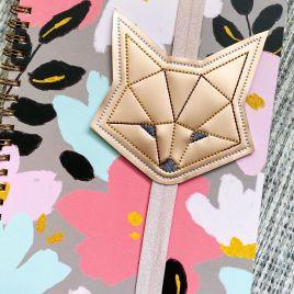 ITH – Geometric Fox – Book Band – Digital Embroidery Design