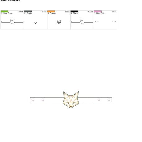 Mask Extender Geo Fox 6×10