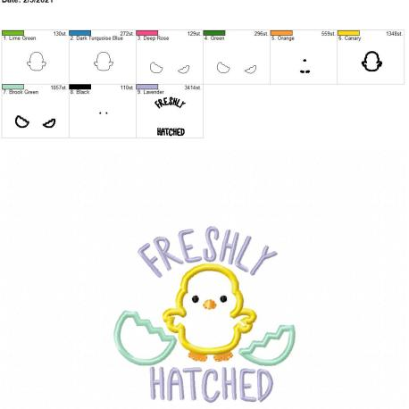 Freshly hatched 4×4