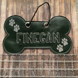 Dog Door Hanger – 4 sizes – Digital Embroidery Design