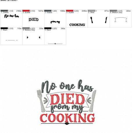 No one has died from my cooking 4×4