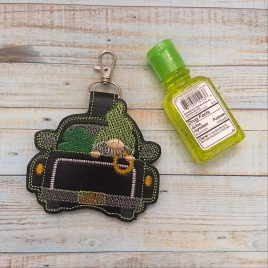 Gnome Truck Lucky Sanitizer Holder – DIGITAL Embroidery DESIGN