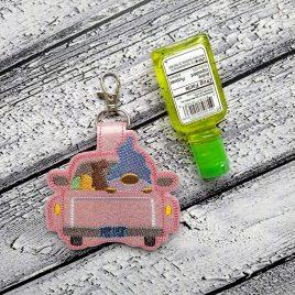 Gnome Truck Easter Sanitizer Holder – DIGITAL Embroidery DESIGN