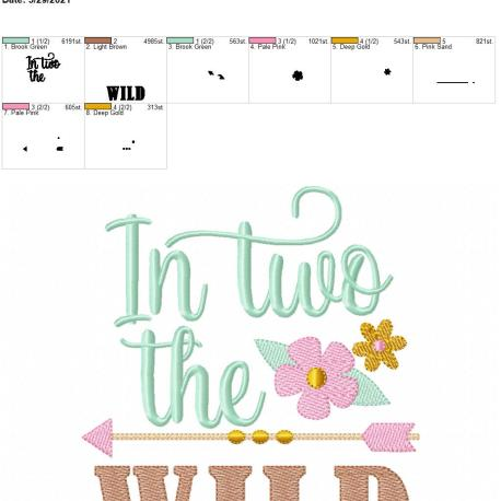 Boho In Two The Wild 6×10