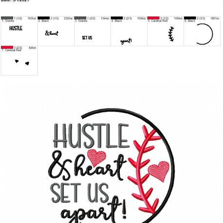 Hustle and Heart 5×7