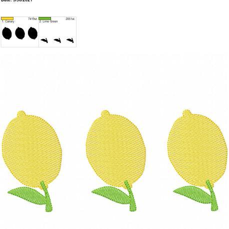 Lemon Sketch Trio 8×12