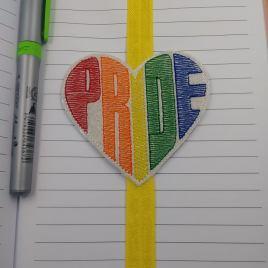 Pride Book Band – Embroidery Design, Digital File