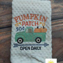 Pumpkin Patch – 4 sizes- Digital Embroidery Design