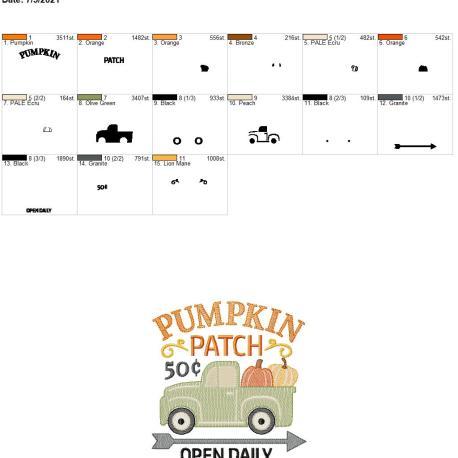 Pumpkin Patch 6×10