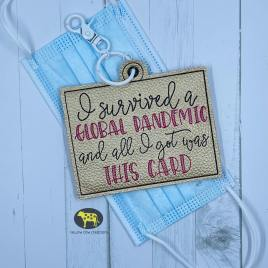 I survived Vaccination Card Holders 5×7