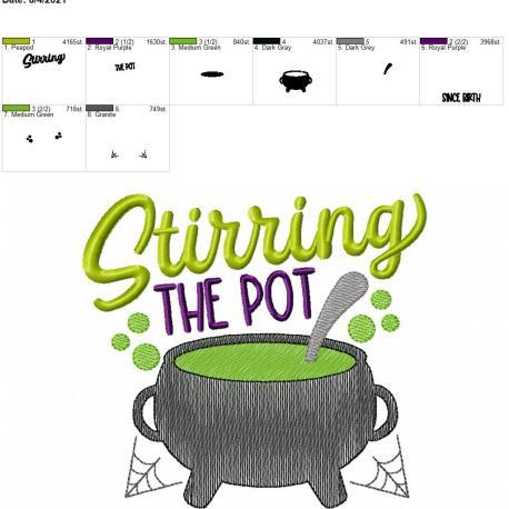 Stirring the pot 6×10
