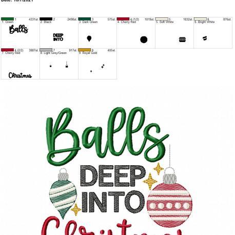 Balls deep into Christmas 6×10