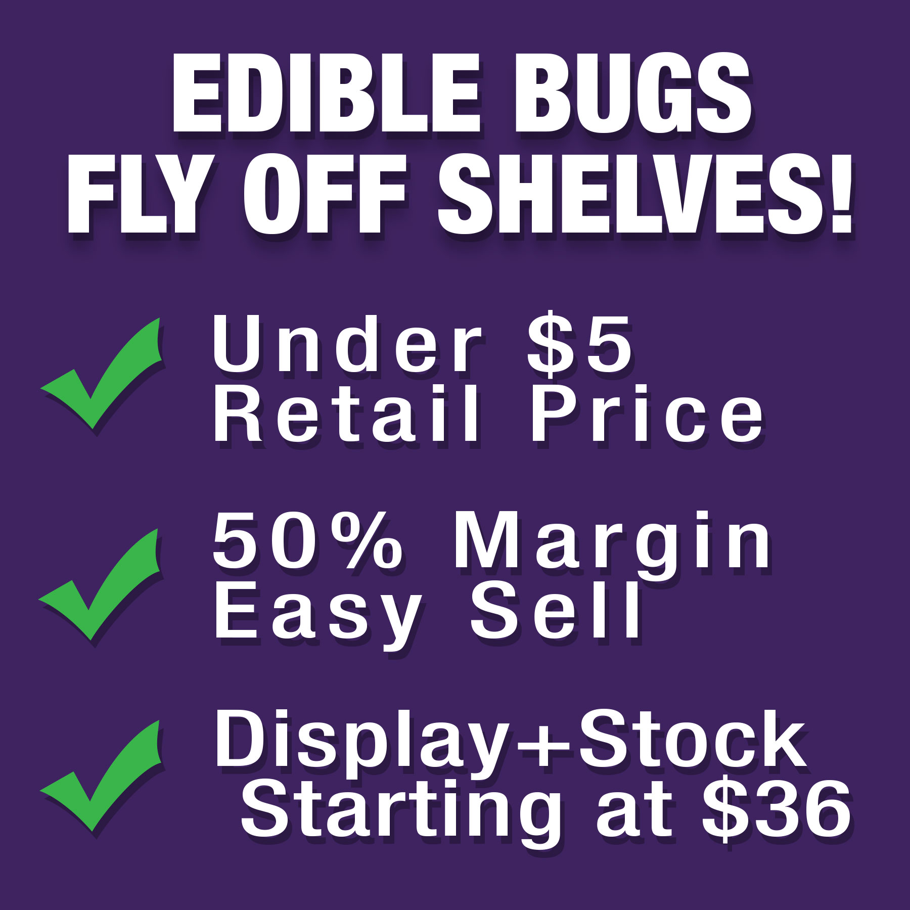 Edible Bugs For Sale