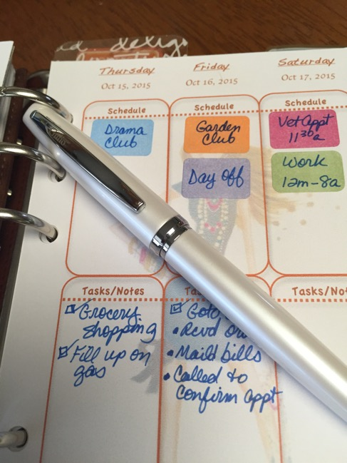 Planner, planners, Gillio, personal, vertical layout, Avery
