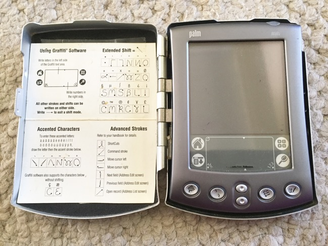 mobile devices, electronic organizers, palm pilot