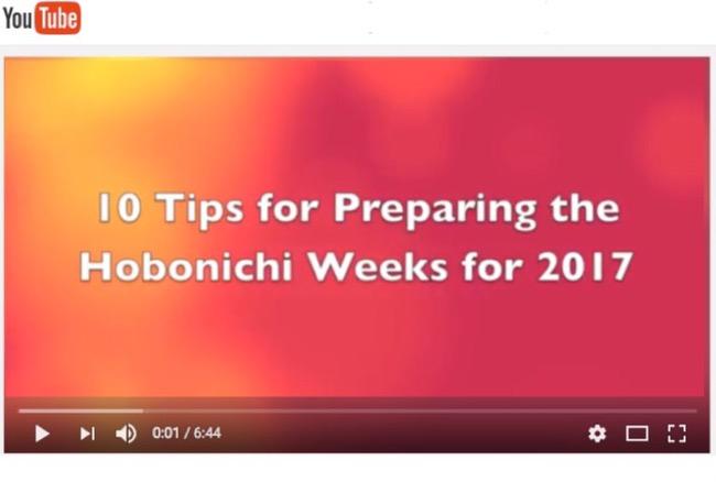 hobonichi, hobonichi weeks, planner setups, planner hacks, planner tips, new year setups