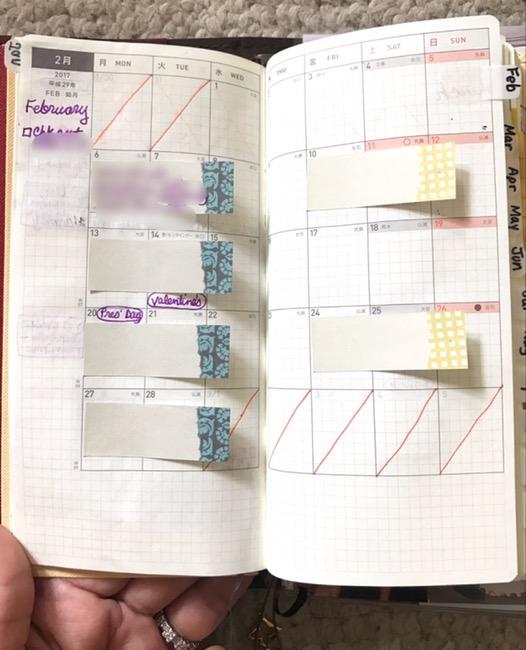 Paper Flower Design Studio, on-the-go planner, planners, hobonichi weeks, tomoe river paper, personal planner, primary planner, blog planner, content planner, youtube planner