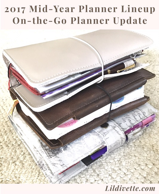 multiple planners, planning, hobonichi weeks