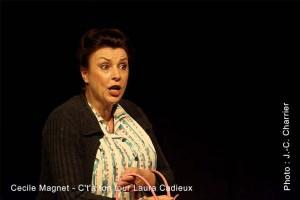 Cécile Magnet - C'tà ton tour Laura Cadieux