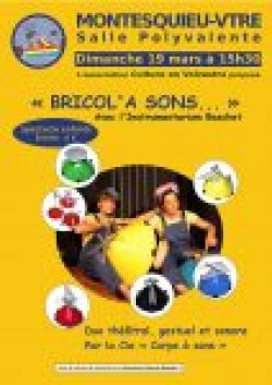 Affiche Bricol a sons
