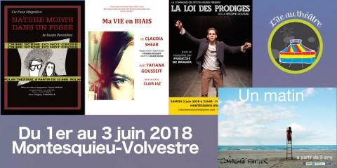 L'île au théâtre 2018 en affiches