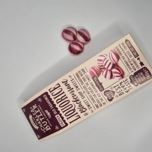 Charles Butler Liquorice blackcurrant sweets