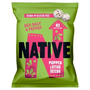 Popped Lotus Seeds by Native - Salt and Pepper