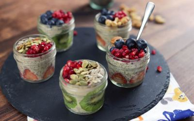 Delicious and Healthy Chia Seeds Pudding