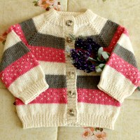 Marshmallow Baby Sweater