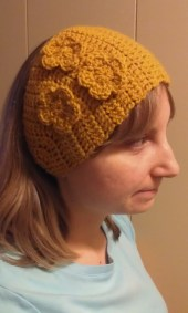 Gold Ear Warmer