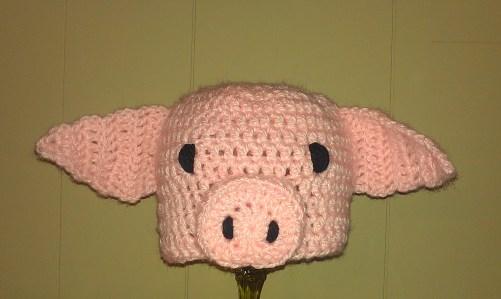 Piglet Toddler Hat