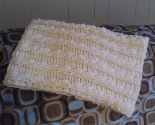 Crochet Cables Cowl