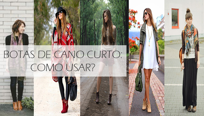 Capa do post sobre botas de cano curto: como usar