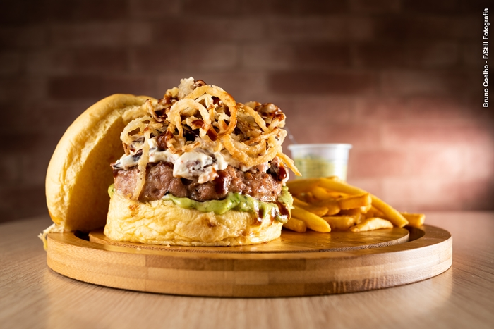 hambúrguer do Charlie Brown Burger para o Burger Cult 2018