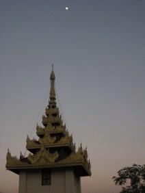 Mandalay hill temple