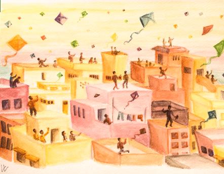 Kite festival Ahmedabad, India