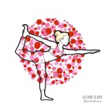 #magicmoonweek illustration challenge instagram art illustrator yoga yogi yogaart lilian leahy illustrations