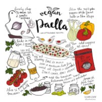 vegan vegetable paella ottolenghi illustrated recipe lilian leahy